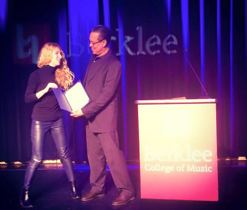Nick Caiaza Award by Berklee College of Music