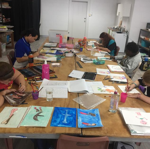 Comic book workshop