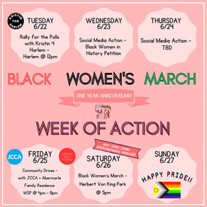 ONE YEAR ANNIVERSARY - WEEK OF ACTION