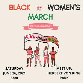 BLACK WOMEN'S MARCH