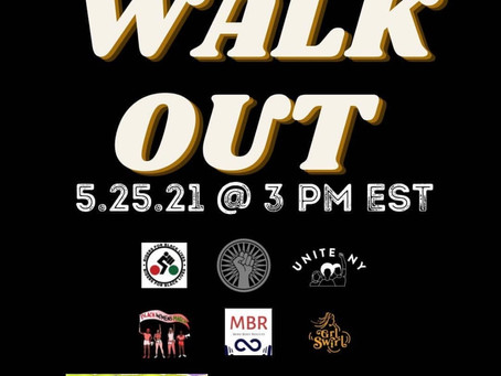 NATIONWIDE WALK OUT - GEORGE FLOYD #ONEYEARLATER