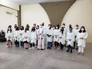 Formação dos Acólitos da Paróquia Nossa Senhora da Candelária