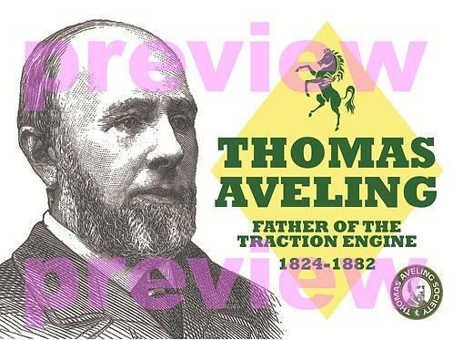 Thomas Aveling Postcard (12 pack).