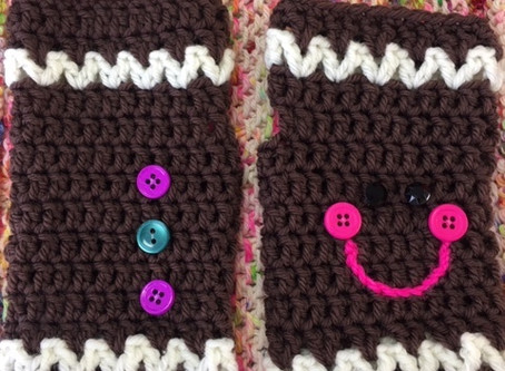 """Complimentary Crochet Workshop Sat. 12/7,10:30-12:30 """"Quick Mitts"""""""