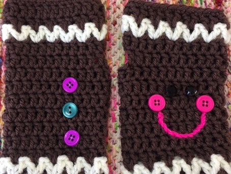 "Complimentary Crochet Workshop Sat. 12/7,10:30-12:30 ""Quick Mitts"""