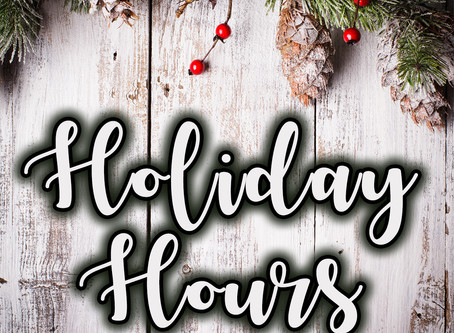 Holiday Hours at Knit Schtick,  AND classes as usual....