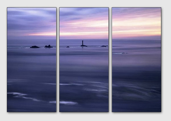 Days End in Lands End-Multi Panel Wall Art - 3 Piece 3x15''x32'