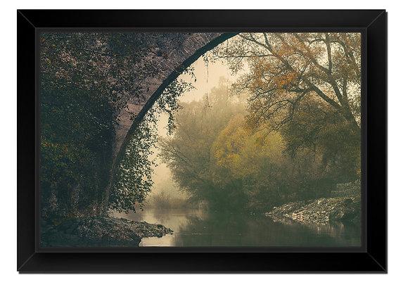 Mystic River Canvas  30''x20'' (76x51cm)