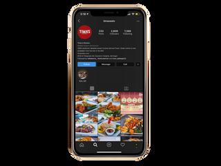 Timas Kitchen  Social Media