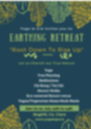 Earthing Retreat Correct date in July! .