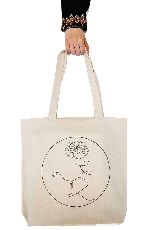 Rose Tote Bag - June
