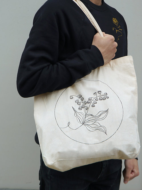 Lily of The Valley Tote Bag - May