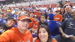 A friend and Marlins Man