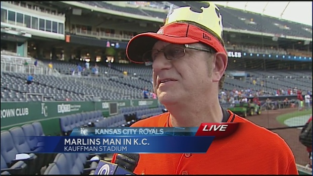 Interviewing the Marlins Man
