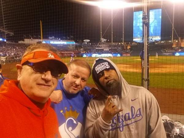 Tech N9ne, a fan, and Laurence