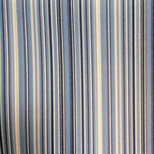 Tecido Suede Coleção Madri Floral Azul Listrado 03