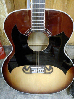 Johnny Cash Custom scratch plate