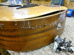 Taylor GS mini soundboard damage