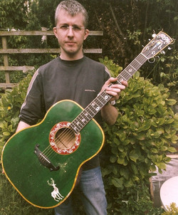 Donavon's guitar 'Kelly'