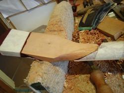 Gibson les paul headstock repair