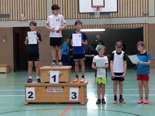 Junge SPO-Leichtathleten erfolgreich
