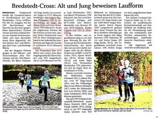 Crosslauf in Bredstedt