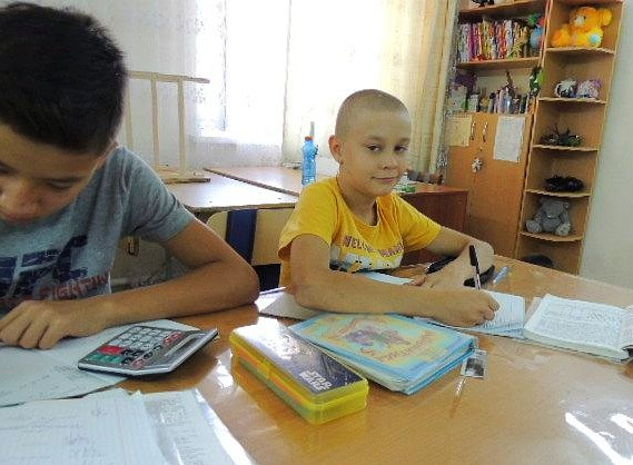 Oleg and His Classmate