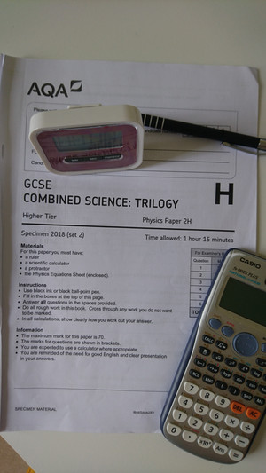 Do schools share or protect their mock examination papers?