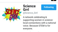 Share ideas withthe grrlsinScience
