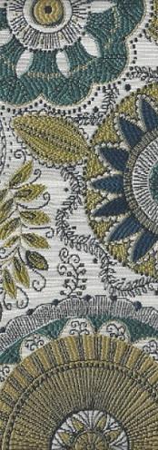 Turquoise Pinwheels