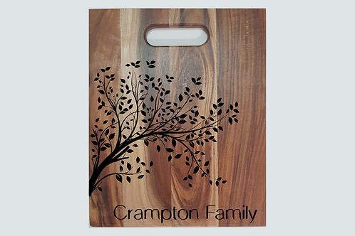 Chopping Board - Family Tree