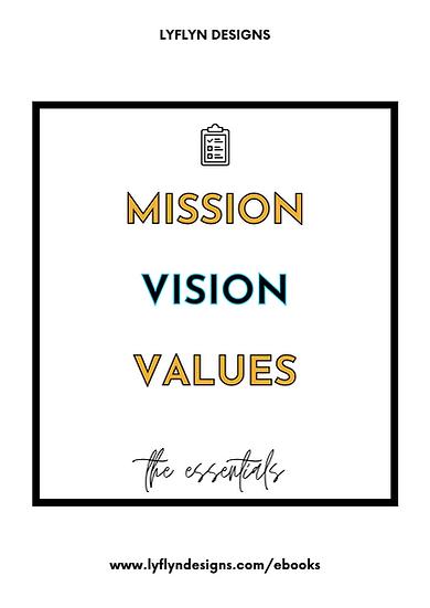 The Essentials: My Vision Workbook