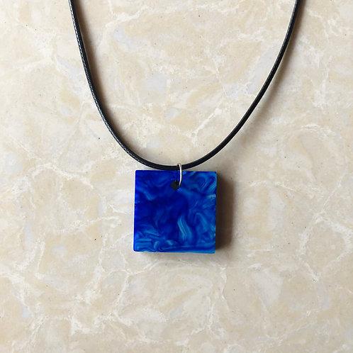 Blue Swirl Pendant