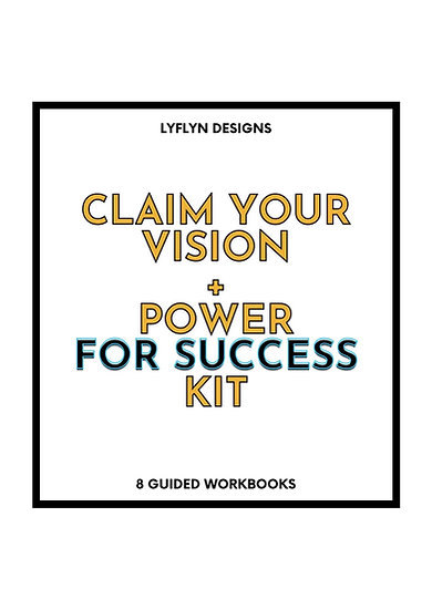 Claim Your Vision + Power For Success Kit