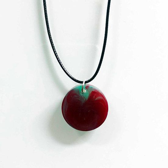 AATE red lava Pendant