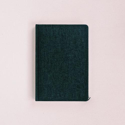 Lined Linen Notebook