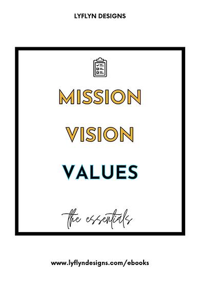 The Essentials: My Values Workbook