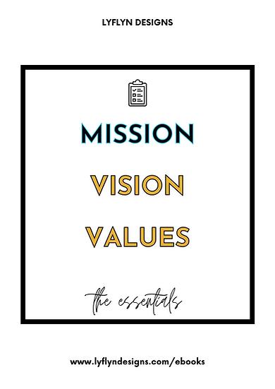 The Essentials: My Mission Workbook