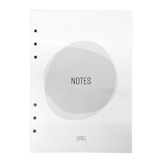 Notes 3-in-1 Inserts