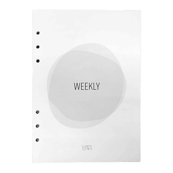 Weekly 3-in-1 Inserts