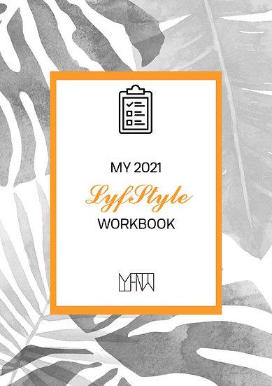 My 2021 LyfStyle Workbook