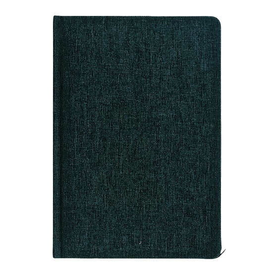 Lined Linen Notebook