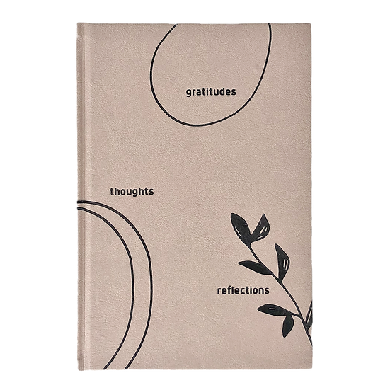 Gratitudes Thoughts Reflections Journal