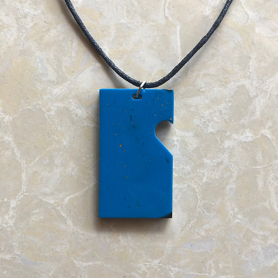 Galaxy Limited Collection Pendant Heart cut-out (L-Blu)