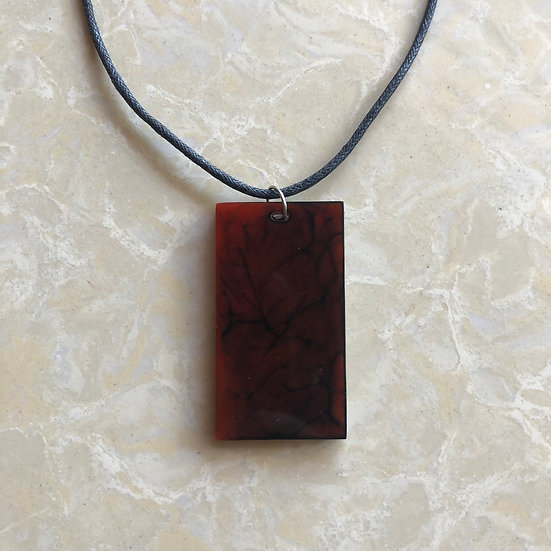 Galaxy Limited Collection Pendant- Red