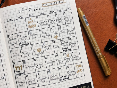 10 Grid Notebook Layouts That'll Sort You Out