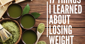 17 Things I learned about losing weight