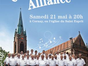 Concert de la Chorale Alliance au profit de Partage et Solidarité