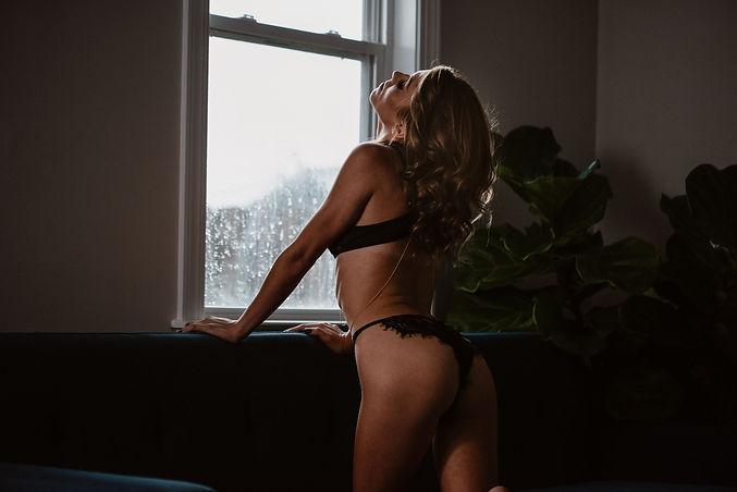 Natural light boudoir