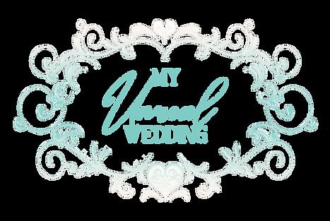 MyUnrealWedding Logopeachnteal.png